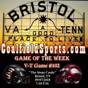 Coalfield Sports' week 3 game lineup