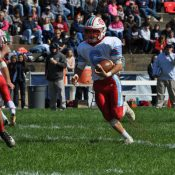 Giles tops Carroll to keep playoff hopes alive