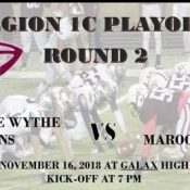 SHADES OF MAROON: George Wythe set for battle with Galax