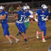 Thomas Walker travels to Twin Valley, looking to add to playoff resume