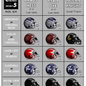 CoalfieldSports PickEm: Week 7