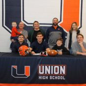 Union's Mason Polier signs on dotted line to continue football career at UVA Wise